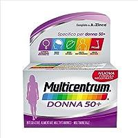Multicentrum Donna - 50+ Integratore Alimentare, 60 Compresse