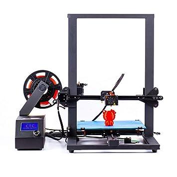 Impresora 3D, CTC A10S DIY fácil de Construir una Impresora 3D ...