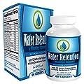 Water Retention & Bloat Support Pills/Supplements - Natural Diuretic Supplement for Men/Women