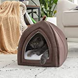 Bedsure Cat Bed for Indoor Cats - Small Cat House