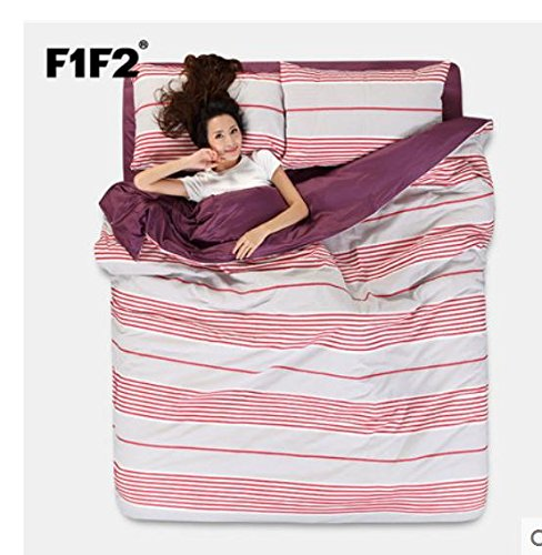 Sammlung Bettwäsche set, hypoallergen Blatt,Bettbezug 4 Stück Tröster Set & Kissen Set