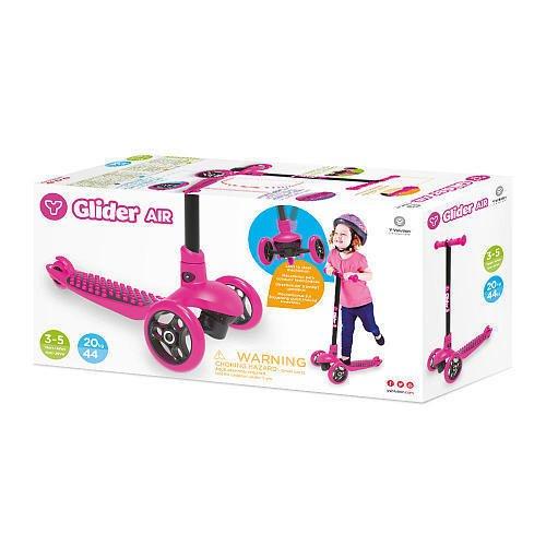 Yvolution y Glider aire - Patinete, color rosa: Amazon.es ...