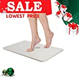 Uarter Bath Mat Diatomaceous Earth Antibacterial Anti Slip Bathroom Floor Mats Size in 15