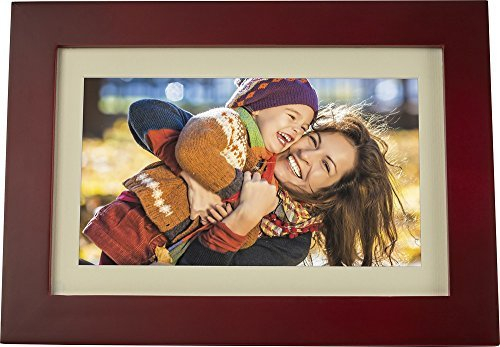 Insignia - 10 Widescreen LCD Digital Photo Frame - Espresso by Insignia