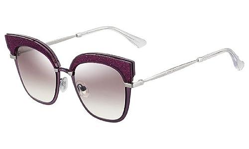 Jimmy Choo Rosy/S 92 2KJ, Gafas de Sol para Mujer, Dorado (Cyclamen Ltgd/Bw Brown), 51