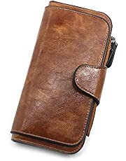 Ladies Wallet Women Leather Clutch Purse Credit Card Coin Holder Bifold