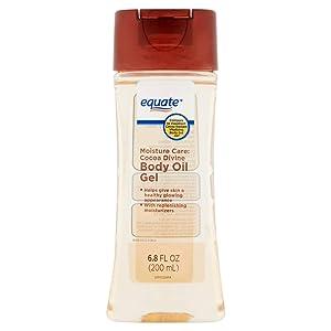 PACK OF 12 - Equate Moisture Care Cocoa Divine Body Oil Gel, 6.8 fl oz