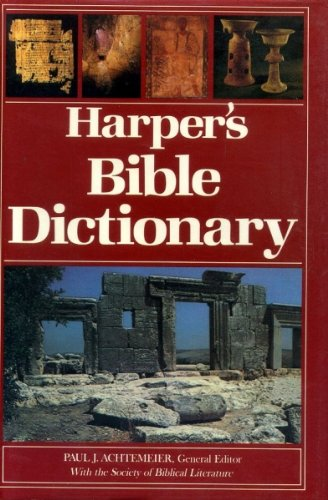 Harper's Bible Dictionary by Harpercollins