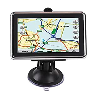 AW488 4.3 Inch Resistive Screen MSB2531 128MB/4GB Car GPS Navigation (FM,EBook,Multimedia)- USA + Canada + Mexico Maps