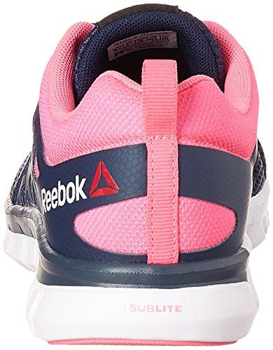 de XT Cushion White Reebok para Azul Zapatillas 2 Grmt Running Mujer Collegiate Poison Navy Sublite Pink Yq55C