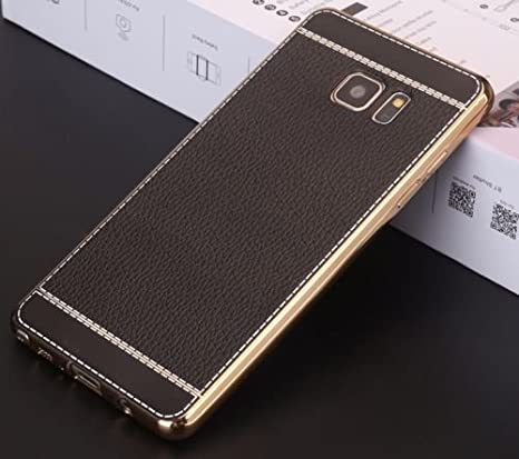 size 40 50cc7 f80ac Loxxo® Back Cover for Samsung A9 Pro Leather Pattern Cover Anti-Scratch  Cover with Ultimate Drop & Screen Protection Mobile Cover for Samsung A9  Pro ...