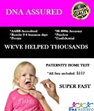DNA Assured - Paternity DNA Test Kit with All Lab Fees Included - No Child Support! Take a DNA Paternity Test First and Prove Your not The Father! Confidential - Results 2-4 Business Days.