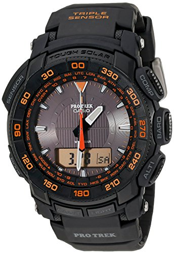 Casio PRG550 1A4 Triple Sensor Tough Analog Digital