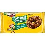 Keebler Coconut Dreams Fudge Caramel and Coconut Cookie, 8.5 Ounce - 12 per case.