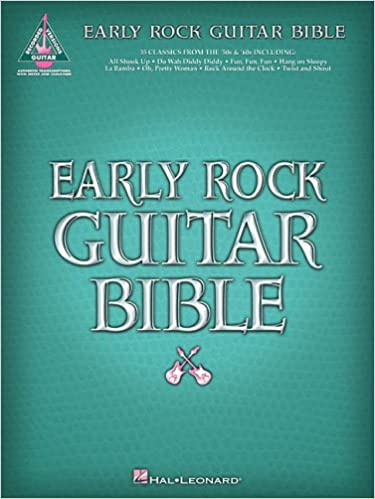 Early Rock Guitar Bible (Guitar Recorded Versions): Amazon.es: Hal ...