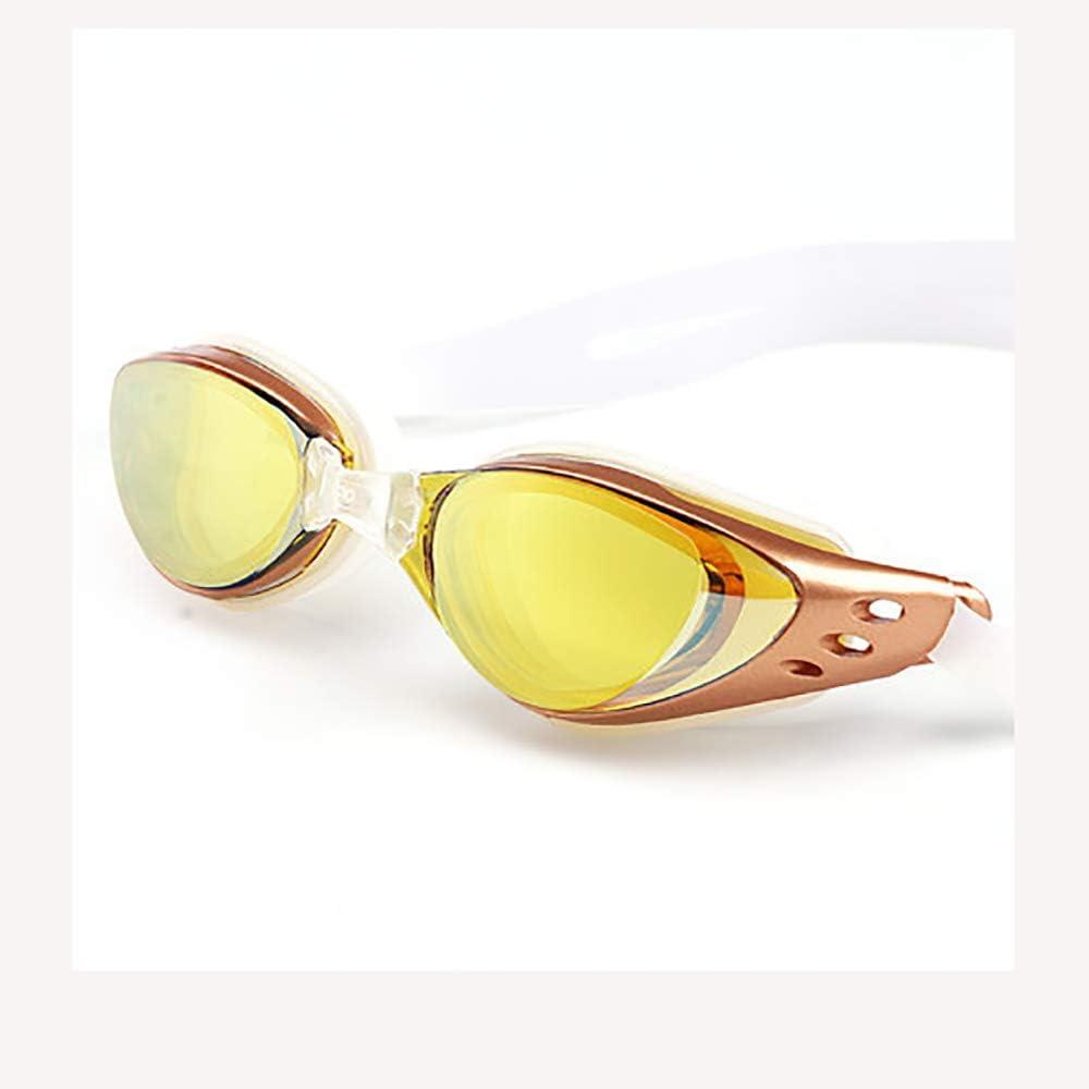 AUGU Gafas de natación Protección UV Sin Fugas Gafas de natación Junior Ajustables con Tapones para los oídos Clip de Nariz Gafas de natación antiniebla Transparentes para Hombres Mujeres Niños Niños