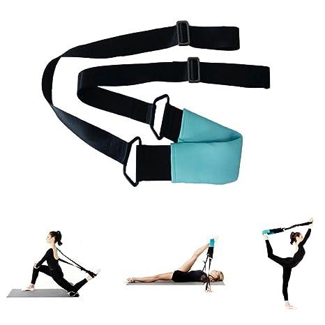 Yoga Estiramiento banda | flexibilidad gurt| Hips, splits ...