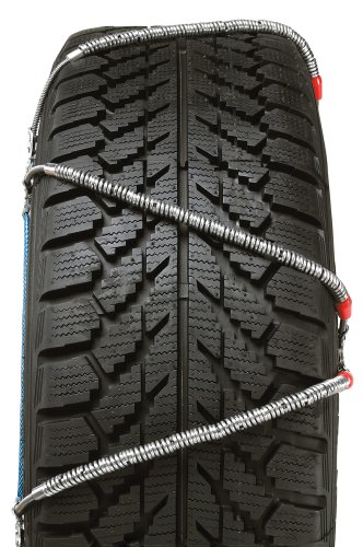 and SUVs Security Chain Company SZ131 Super Z6 Cable Tire Chain for Passenger Cars Set of 2 Pickups
