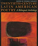 Twentieth-Century Latin American Poetry : A Bilingual Anthology, Tapscott, Stephen, 0292781407