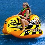 WoW Sports 14-1040 Buzz Boat, Cockpit Seating, High Backrest Towable Ski Tube, 1 Person