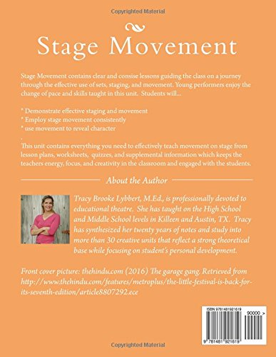 Stage Movement: Student Work Book (Theatre Arts 1 and 2) (Volume ...
