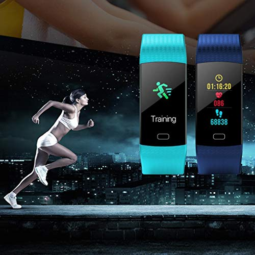 evelove Multi-Function Heart Rate Blood Pressure Monitoring Waterproof Smart Wristband Smart Watches