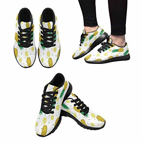 Sneaker Leggero Da Donna Da Jogging Running Running Easy Easy Running Sport Da Corsa Scarpe Da Corsa Ananas Modello Multi 1