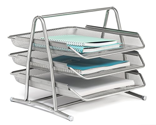 (Mindspace 3 Tier Desk Tray Office Organizer | The Mesh Collection,)