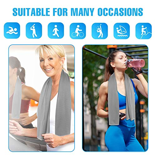 ICECUUL Disney World Accessories for Trip Cooling Towel 4 Packs(47\
