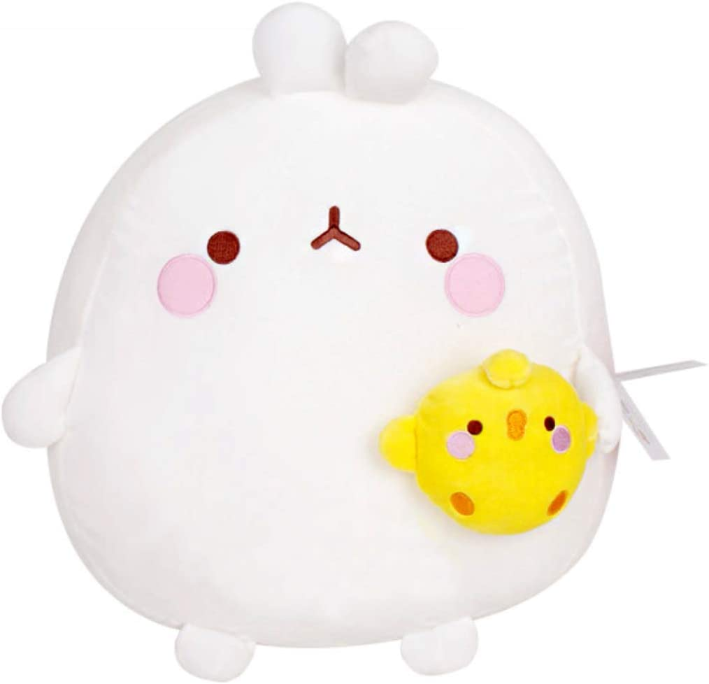 "Molang Soft Baby Stuffed Doll Mochi Toy 16/"" Body Pillow Bedding Hugging Cushion"