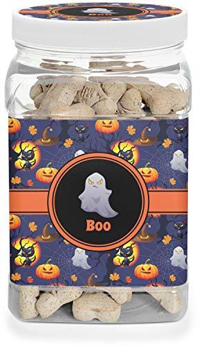 YouCustomizeIt Halloween Night Pet Treat Jar