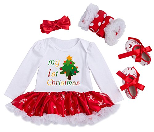 Happy Cherry Toddler Baby Girls Christmas Dress Costume