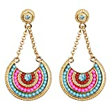 Vibrant Multicolor Dangle Earrings