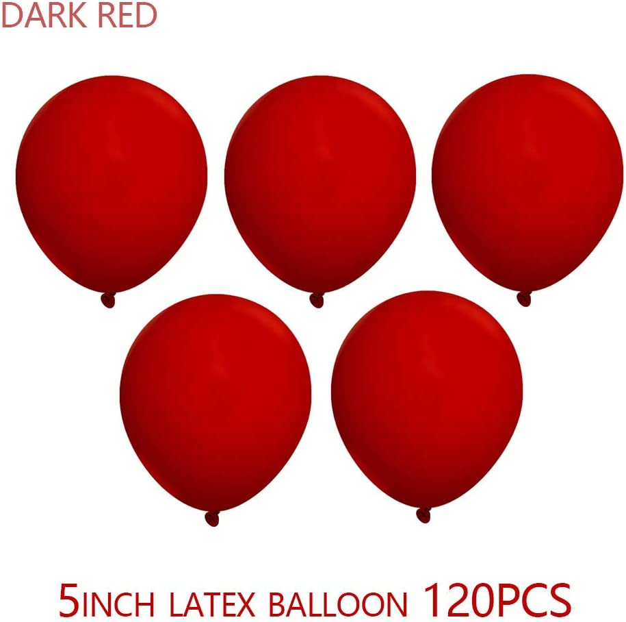 5 inch White Balloons Quality Latex Balloons Helium Balloons Party Decorations Supplies Pack of 120