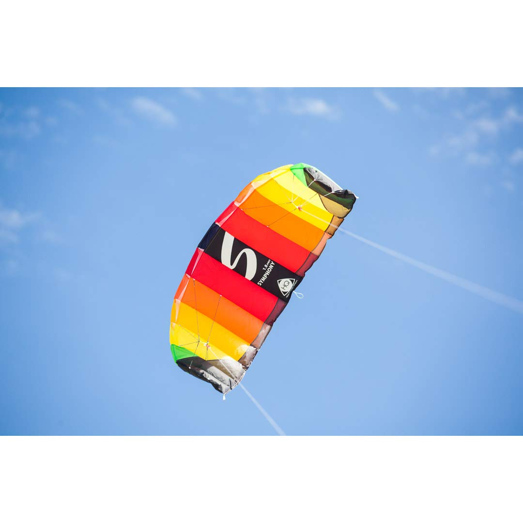 HQ Kites Symphony Beach III 2Stunt Kite 87'' Dual - Line Sport Kite, Color: Rainbow - Active Outdoor Fun for Ages 14 & Up by HQ Kites and Design (Image #6)