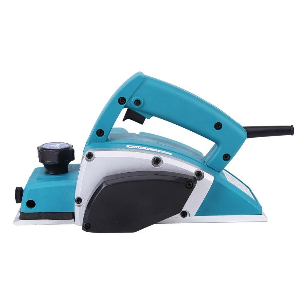 Electric Wood Hand Planer,110V Electric Wood Planer Door Plane Hand Held With 3-1/4 planer Woodworking Hand Surface by GOTOTOP (Image #6)