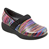 SoftWalk Women's Grey's Anatomy Meredith Sport Clog (8 B(M) US, Black Multi Stripe)