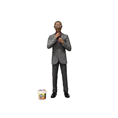 "Mezco Toyz Breaking Bad Gus Fring Figure, 6"": Toys & Games"