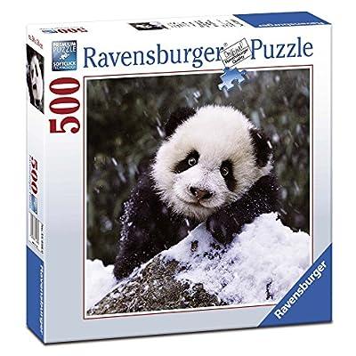 Ravensburger 15236 Puzzle Quadrato Panda 500 Pezzi