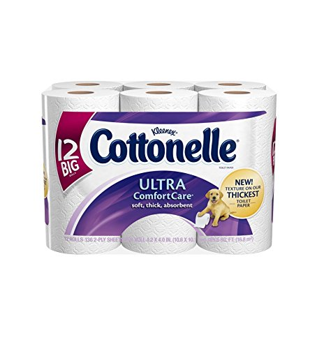 Cottonelle Ultra Comfort Care Toilet Paper, Big Roll