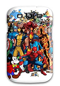 Juliam Beisel's Shop Best 8388599K94420762 High-quality Durable Protection Case For Galaxy S3(marvel)