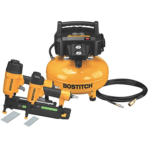 Stanley-Bostitch BTFP2KIT 2-Tool and Compressor Combo Kit