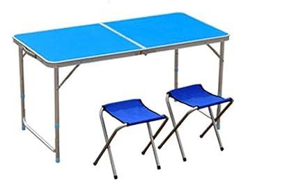MONEYY Piscina sillas Plegables y mesas y sillas Sus Puestos ...