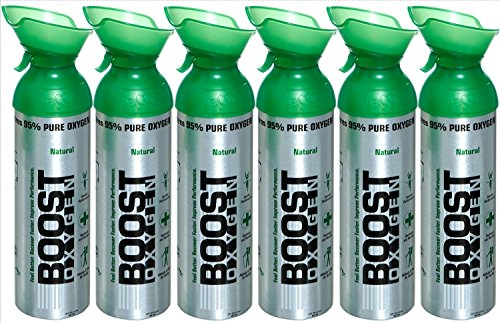 Boost Oxygen 22oz Natural (6-pack)
