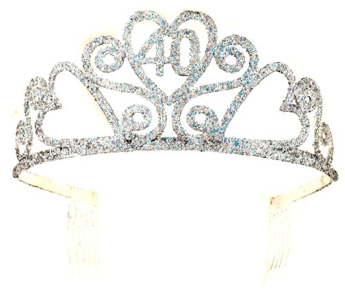 Forum Novelties 40th Birthday Glitter Tiara