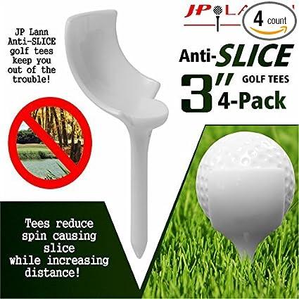 Amazon.com: anti-slice Tees de golf por JP Lann (Pack de 4 ...