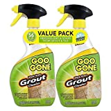 Goo Gone Grout Cleaner 14 oz. Trigger Twin Pack | Maximum Strength Foam Formula Removes Dirt Built-Up