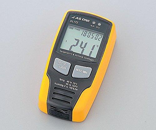 アズワン1-1988-01温湿度データロガーDL172 B07BD393FQ