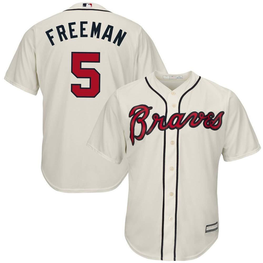 Freddie Freeman Atlanta Braves 2019 Cool Base Player Jersey #5