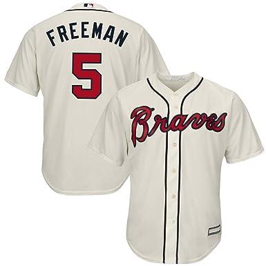 wholesale dealer 789b2 aaebb Freddie Freeman Atlanta Braves 2019 Cool Base Player Jersey #5